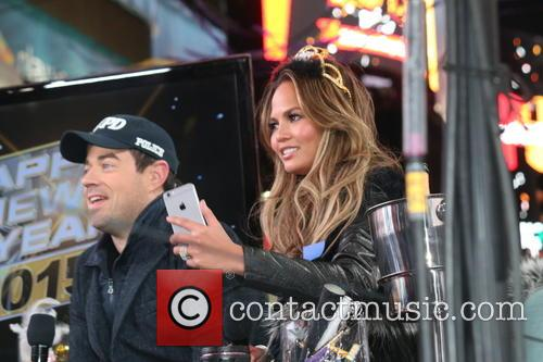 Carson Daly and Chrissy Teigen 2