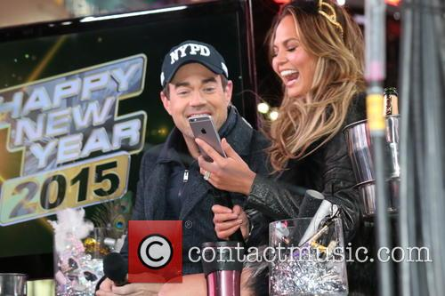 Carson Daly and Chrissy Teigen 1