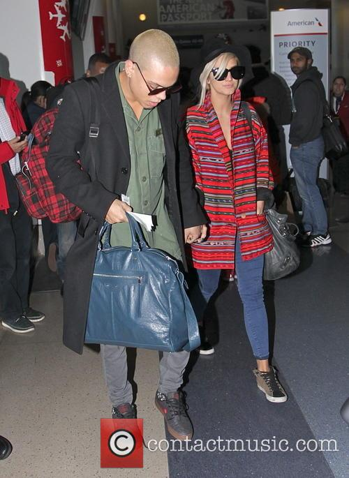 Evan Ross and Ashlee Simpson 3