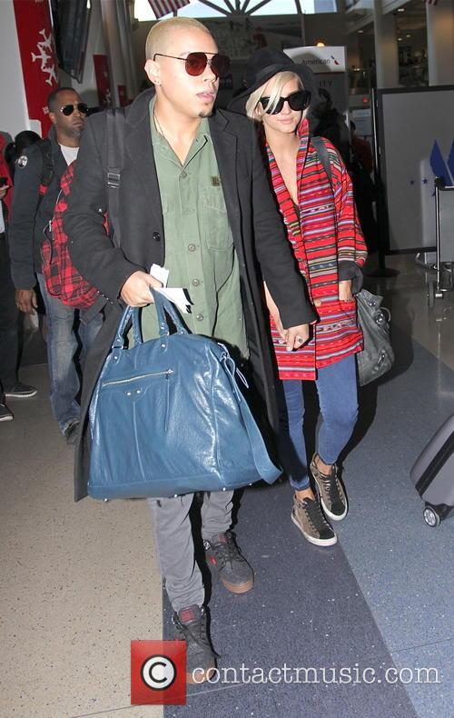 Evan Ross and Ashlee Simpson 4