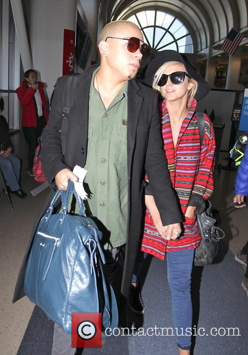 Evan Ross and Ashlee Simpson 5