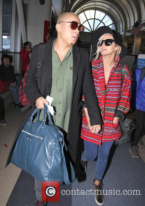 Evan Ross and Ashlee Simpson 7
