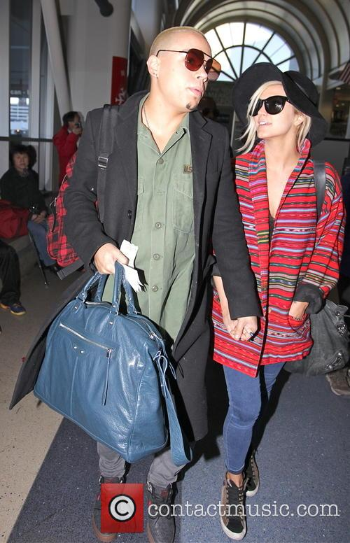 Evan Ross and Ashlee Simpson 8