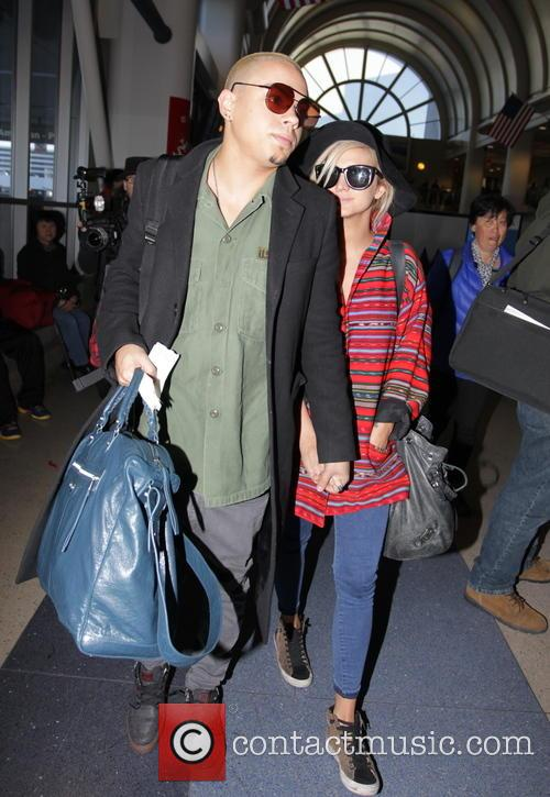 Evan Ross and Ashlee Simpson 9