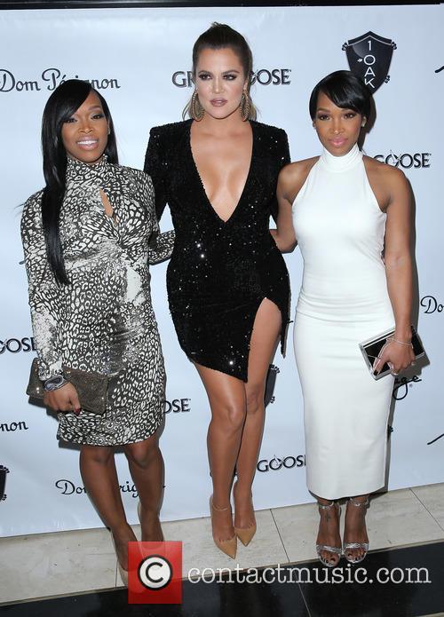 Kadija Haqq, Khloe Kardashian and Malika Haqq 2