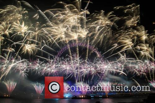 London's New Years Eve fireworks