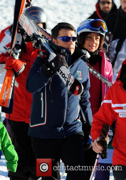 Matteo Renzi and Agnese Landini 6