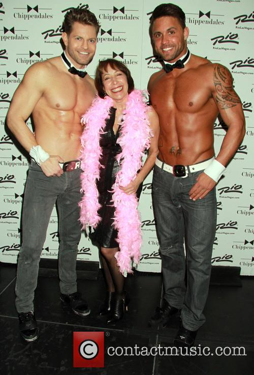 Didi Conn and Chippendales 2