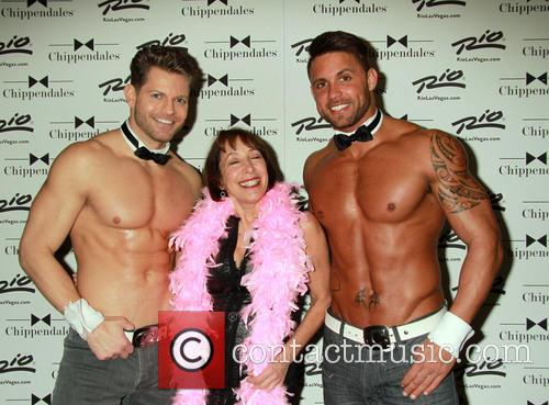 Didi Conn and Chippendales 3