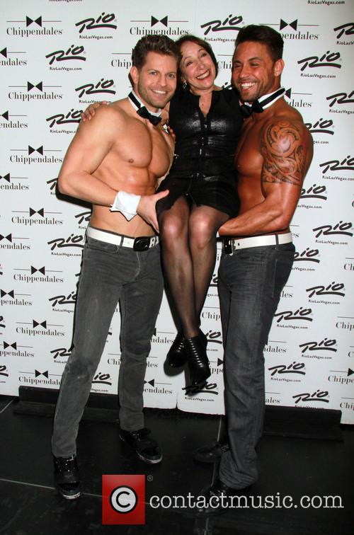 Didi Conn and Chippendales 4
