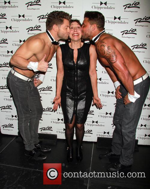 Didi Conn and Chippendales 5