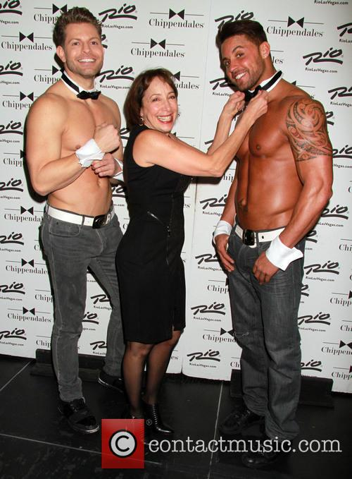 Didi Conn and Chippendales 6