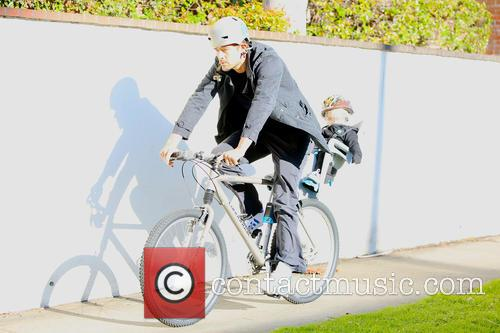 Josh Duhamel and Axl Duhamel 9