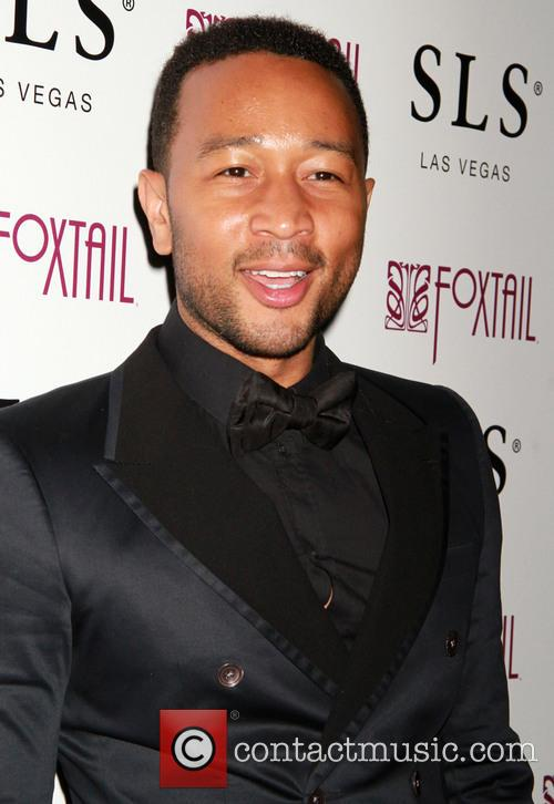 John Legend celebrates his 36th birthday at Foxtail...