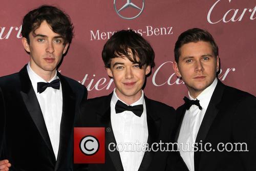 Alex Lawther, Allen Leech and Matthew Beard 10