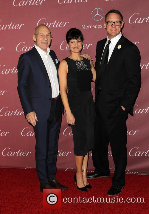 Patrick Stewart, Carla Gugino and Matthew Lillard 4