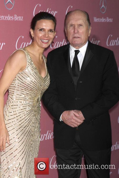 Robert Duvall and Luciana Duvall 2