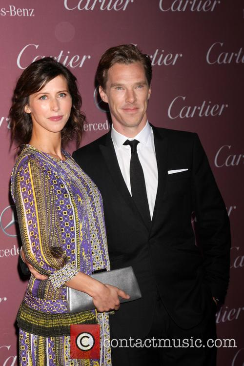 Sophie Hunter and Benedict Cumberbatch at Palm Springs Film Festival Gala 2015