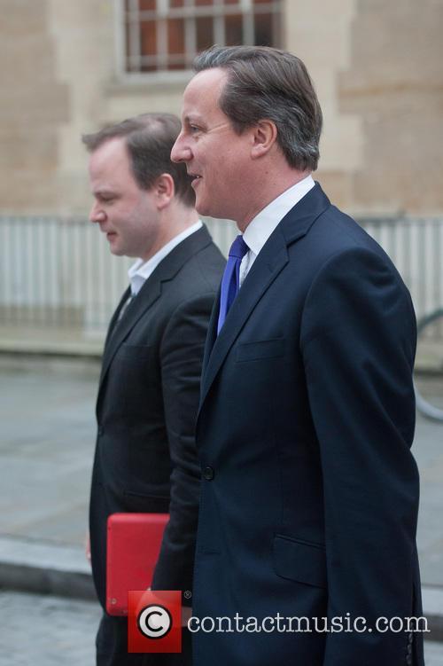 David Cameron and Craig Oliver 8