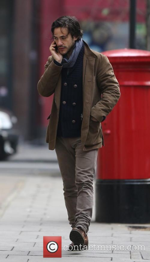 Jack Savoretti out in central London