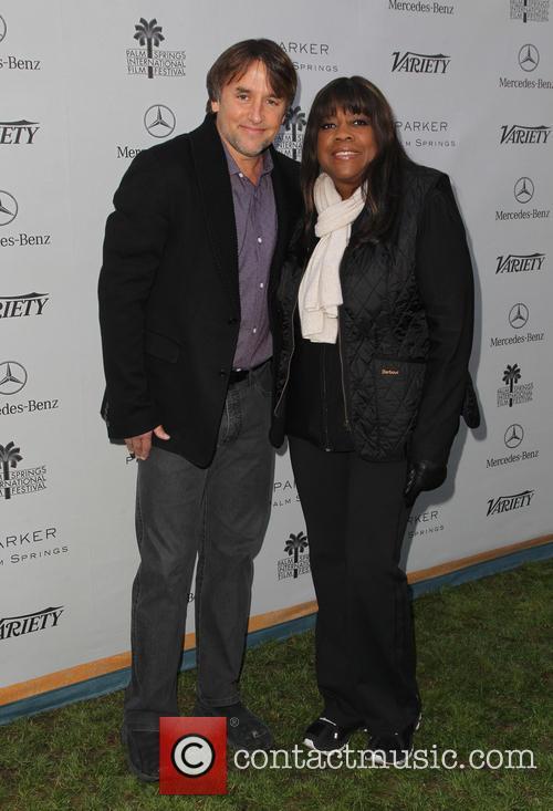 Richard Linklater and Chaz Ebert