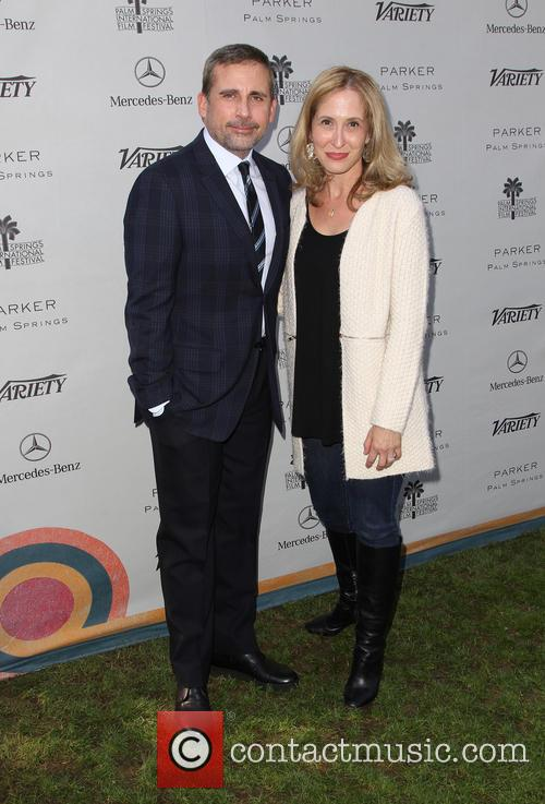 Steve Carell and Michelle Sobrino 8