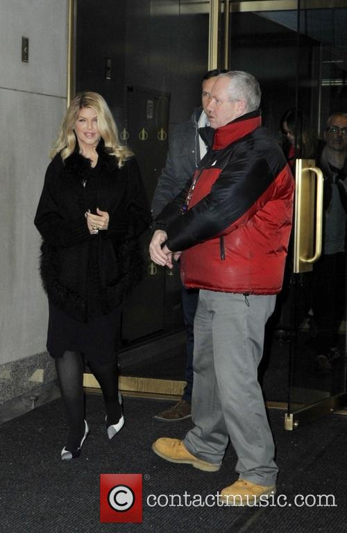 Kirstie Alley leaving the 'Today' show