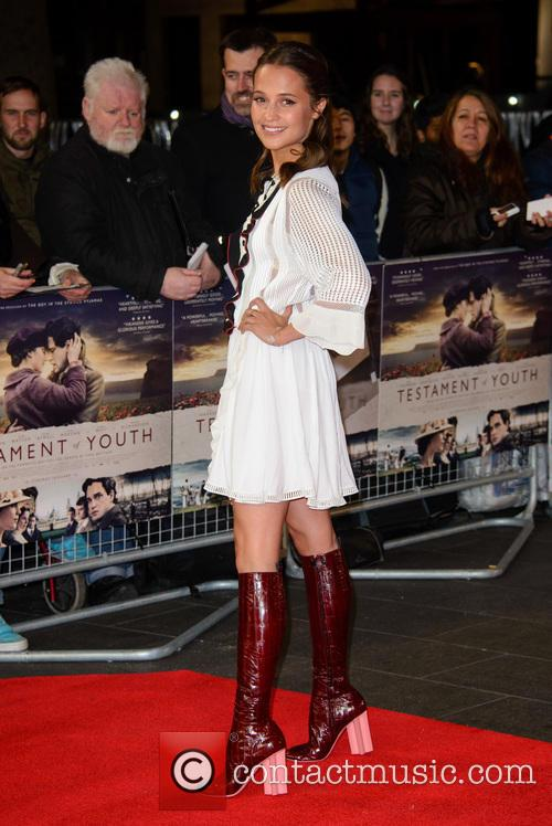 'Testament of Youth' U.K. Premiere - Arrivals