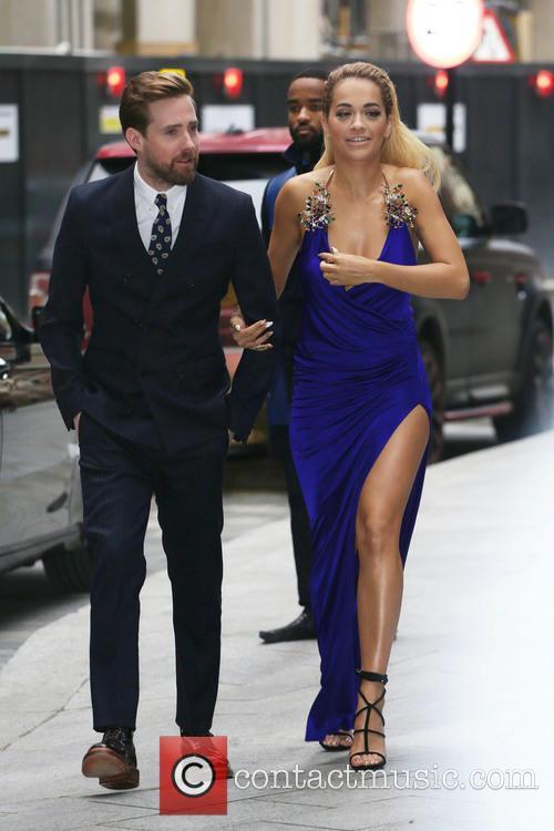 Ricky Wilson and Rita Ora