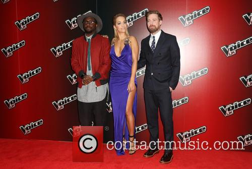 Rita Ora, Ricky Wilson and Will.i.am 5
