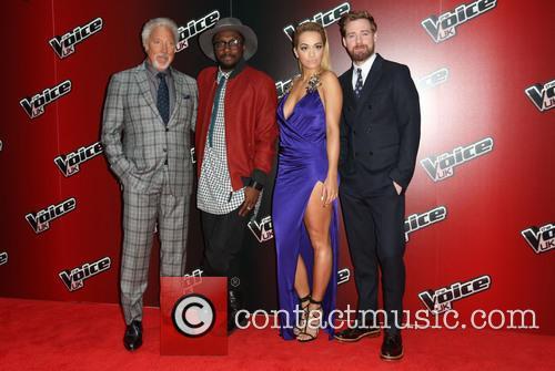 Rita Ora, Ricky Wilson, Will.i.am and Tom Jones 9