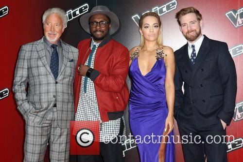 Rita Ora, Ricky Wilson, Will.i.am and Tom Jones 10