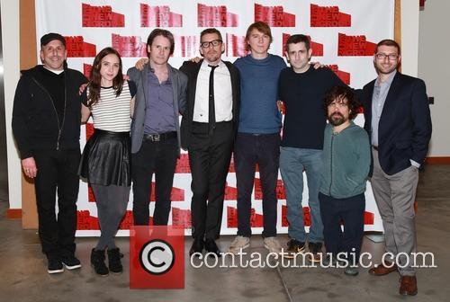 Scott Elliott, Zoe Kazan, Josh Hamilton, Ethan Hawke, Paul Dano, Jonathan Marc Sherman, Peter Dinklage and Adam Bernstein 1