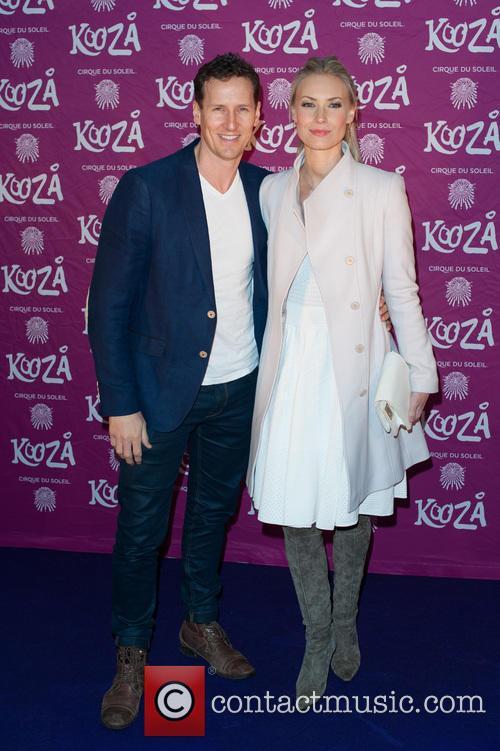 Brendan Cole and Zoe Hobbs 1