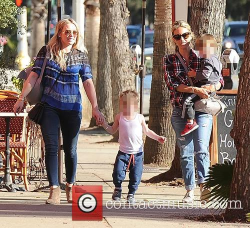 Hilary Duff and Luca Comrie 1
