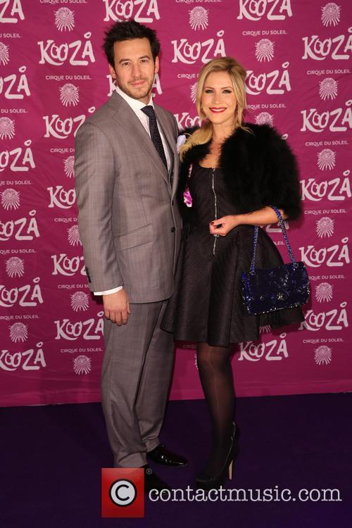 Heidi Range and Alex Partakis at Cirque du Soleil press night