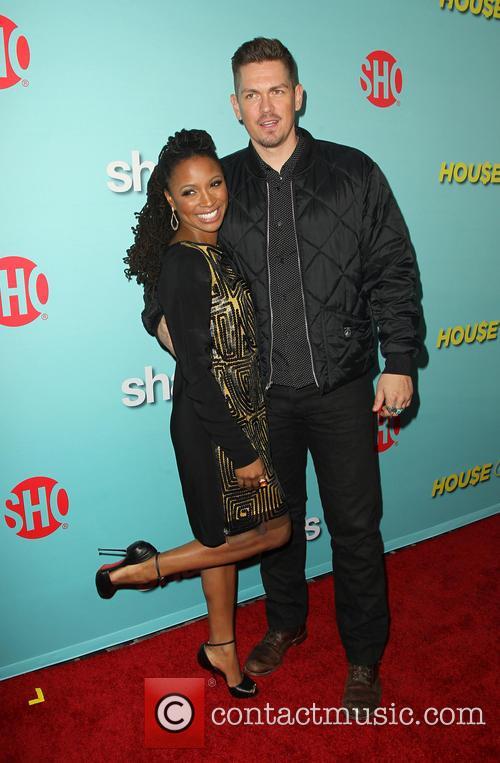 Shanola Hampton and Steve Howey 2