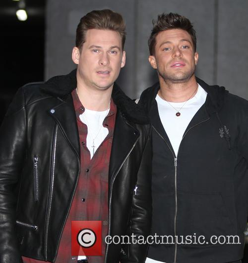 Blue, Lee Ryan and Duncan James 4