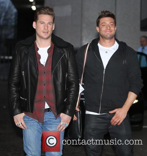 Blue, Lee Ryan and Duncan James 5