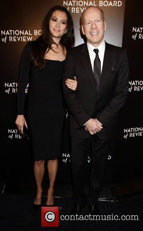 Emma Heming-willis and Bruce Willis 6