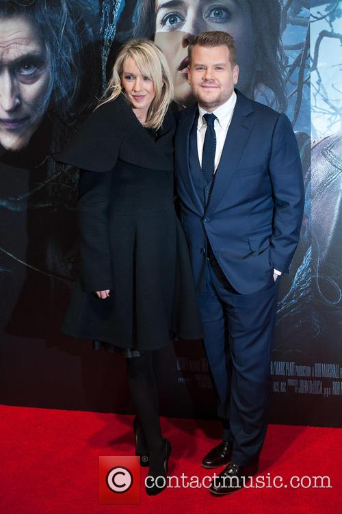 Julia Carey and James Corden 2