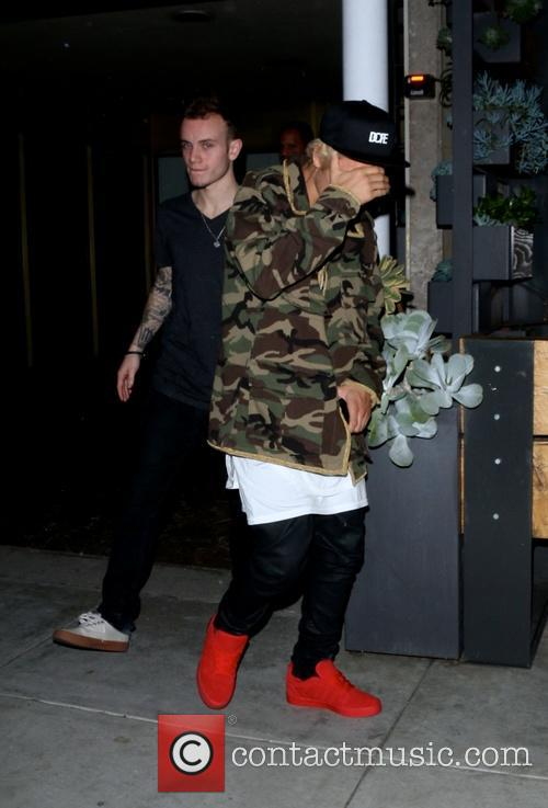 Justin Bieber out and about in Beverly Hills