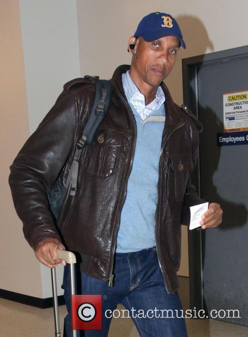 Reggie Miller departs from Los Angeles International Airport