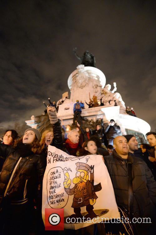 Tribute to Paris victims