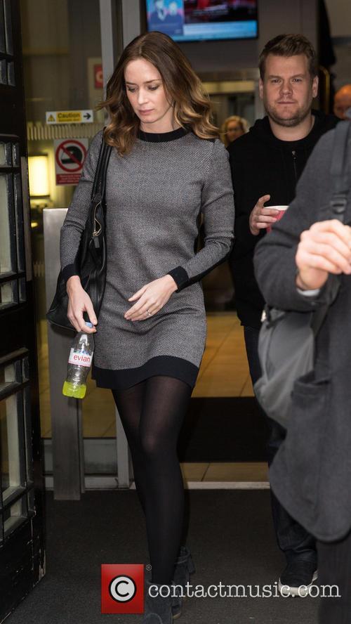 Emily Blunt and James Corden 2