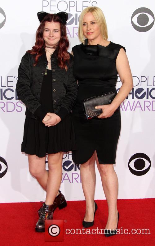 Patricia Arquette and Harlow Olivia Calliope Jane 1