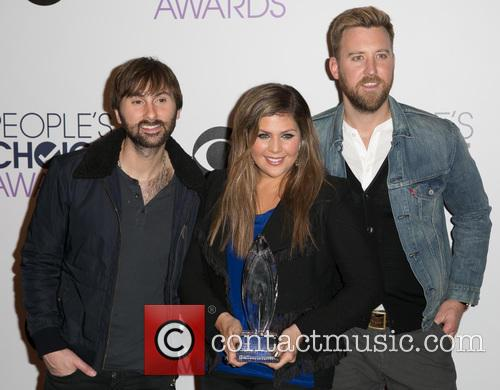 Dave Haywood, Hillary Scott, Charles Kelley and Lady Antebellum 3