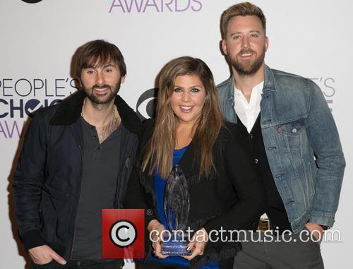 Dave Haywood, Hillary Scott, Charles Kelley and Lady Antebellum 1