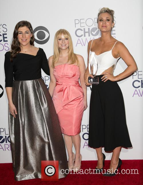 Mayim Bialik, Melissa Rauch and Kaley Cuoco-sweeting
