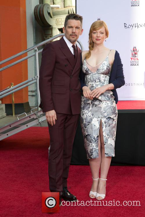 Ethan Hawke and Sarah Snook 8